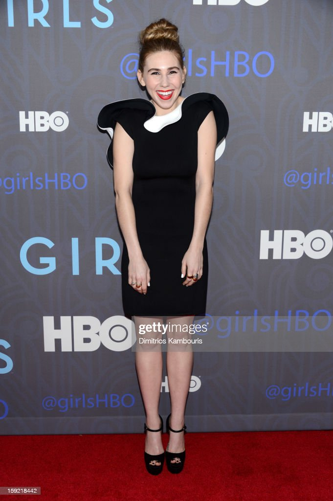 Zosia Mamet attends the Premiere Of 'Girls' Season 2 Hosted By HBO at NYU Skirball Center on January 9, 2013 in New York City.