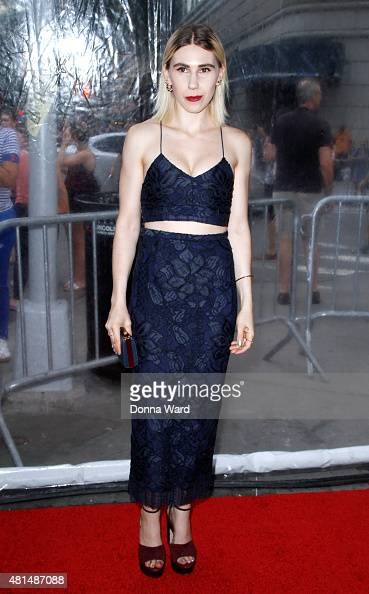 Zosia Mamet attends the 'Southpaw' New York premiere at AMC Loews Lincoln Square on July 20 2015 in New York City