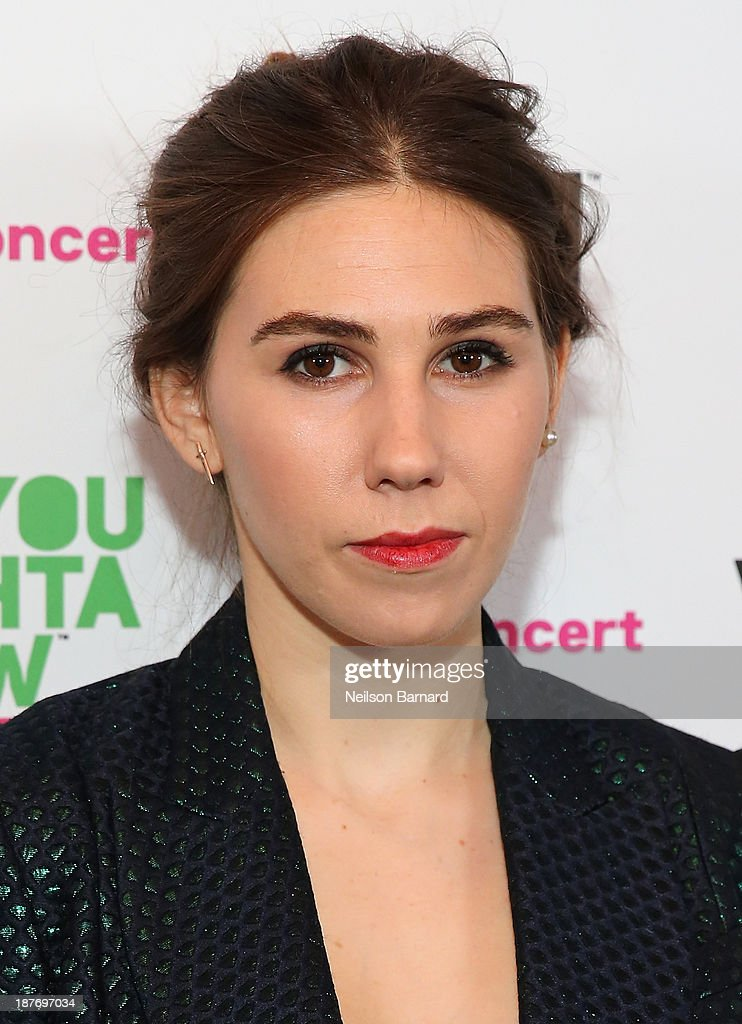Zosia Mamet attends VH1 'You Oughta Know In Concert' 2013 on November 11, 2013 at Roseland Ballroom in New York City.