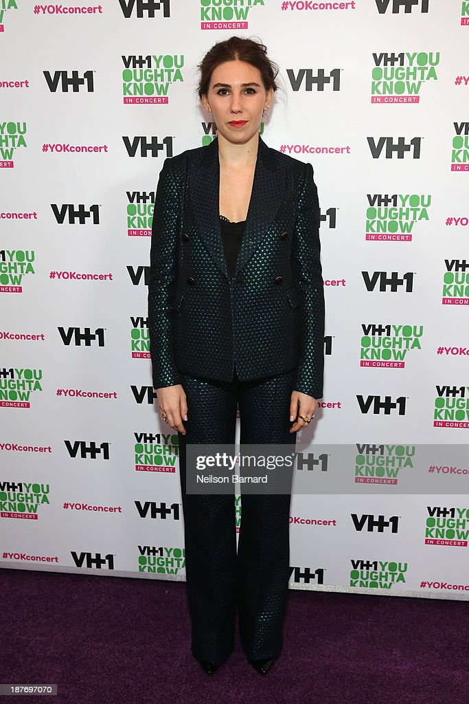 <a gi-track='captionPersonalityLinkClicked' href=/galleries/search?phrase=Zosia+Mamet&family=editorial&specificpeople=7439328 ng-click='$event.stopPropagation()'>Zosia Mamet</a> attends VH1 'You Oughta Know In Concert' 2013 on November 11, 2013 at Roseland Ballroom in New York City.