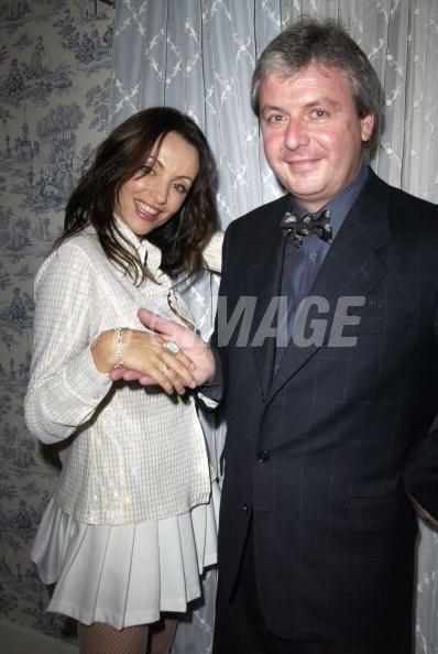 Zoska Aleece and Alain Lorenzo CEO of De Beers LV