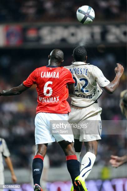 Zoumana CAMARA / Anthony MODESTE PSG / Bordeaux 3eme journee de Ligue 1 Parc des Princes Paris
