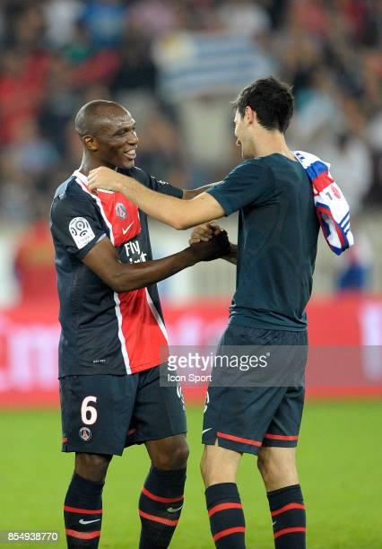 Zoumana CAMARA / Javier PASTORE Paris Saint Germain / Lyon 9e journee Ligue 1