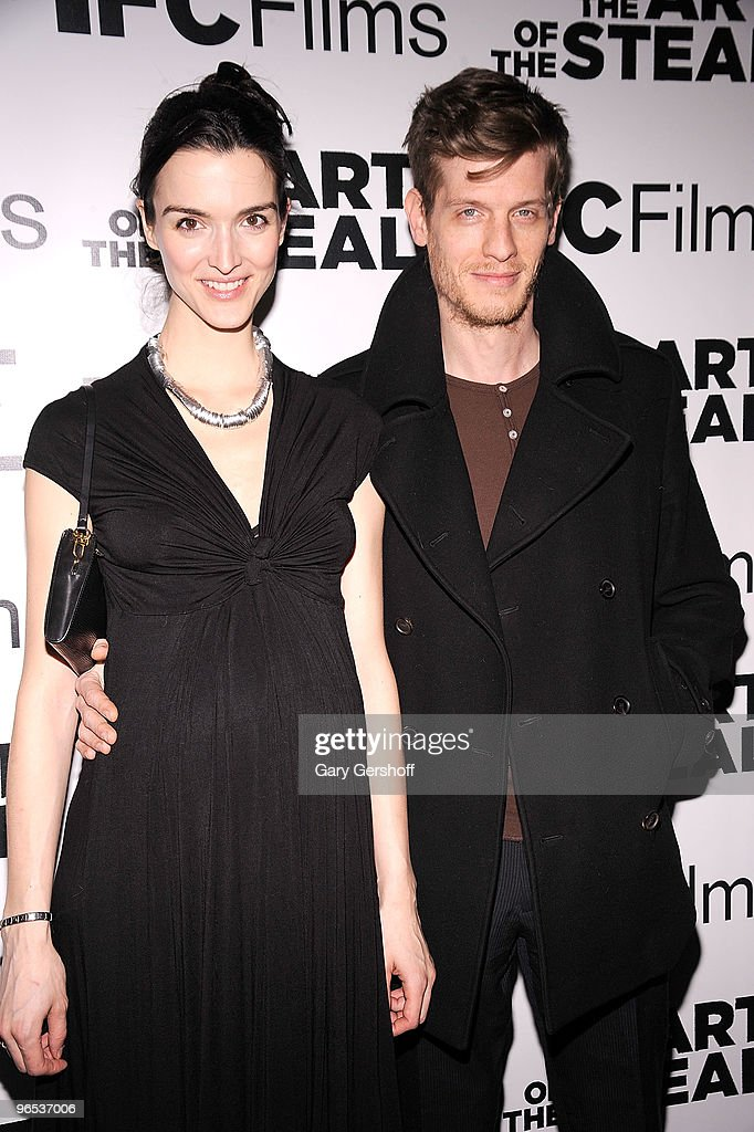 Zoya Loeb and Damian Loeb attend the 'The Art of The Steal' New York premiere at MOMA on February 9 2010 in New York City