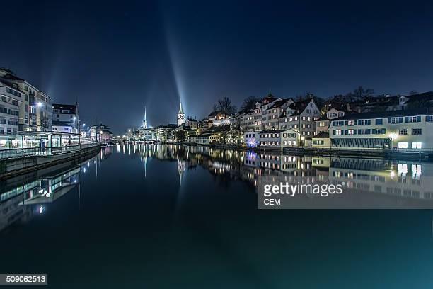 Zürich City by night