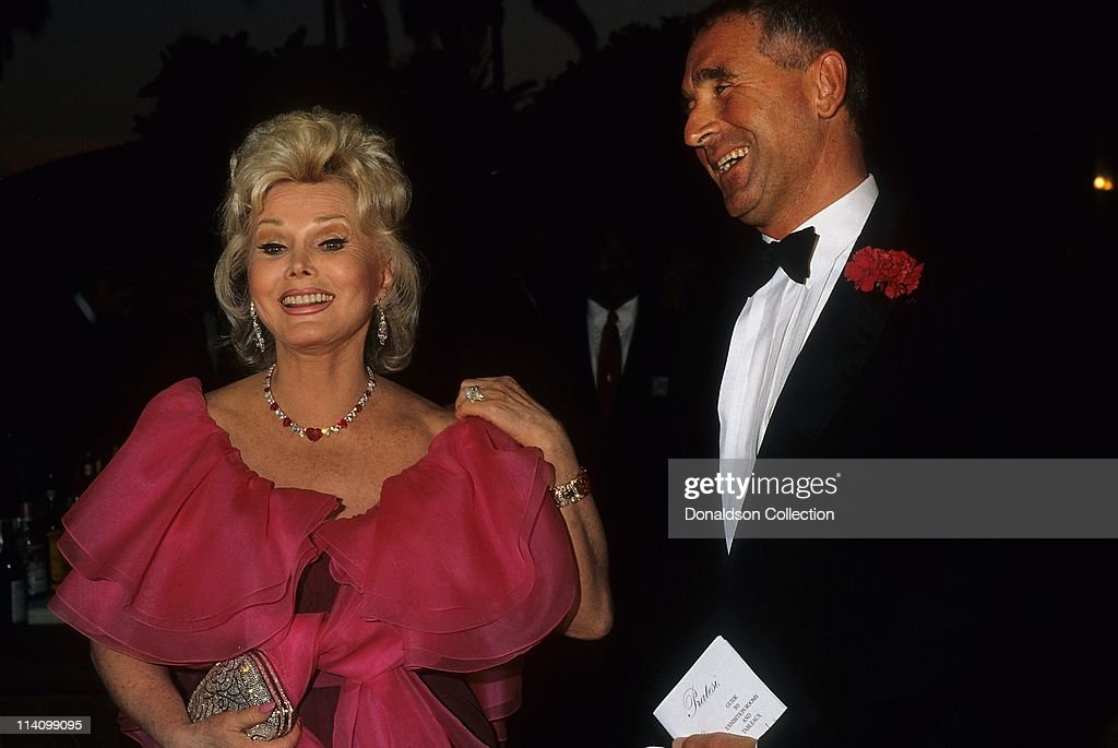 <a gi-track='captionPersonalityLinkClicked' href=/galleries/search?phrase=Zsa+Zsa+Gabor&family=editorial&specificpeople=123856 ng-click='$event.stopPropagation()'>Zsa Zsa Gabor</a> and Frederic Prinz Von Anhalt at Bel Age Hotel Event in February 1988 in Los Angeles, California.