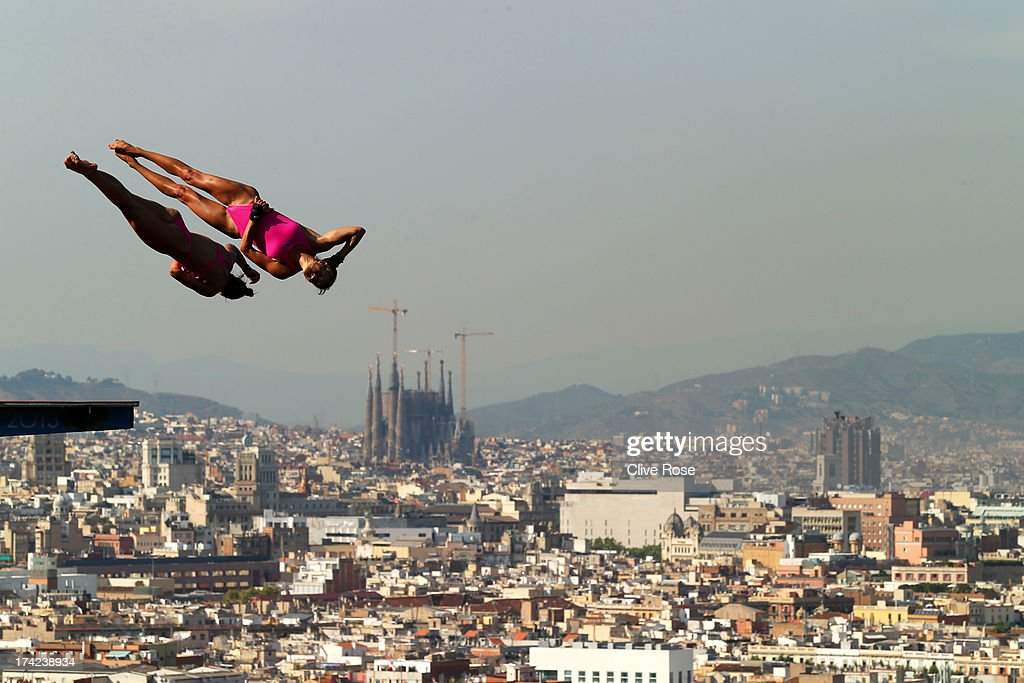 Diving 15th fina world championships day three getty for Piscina municipal