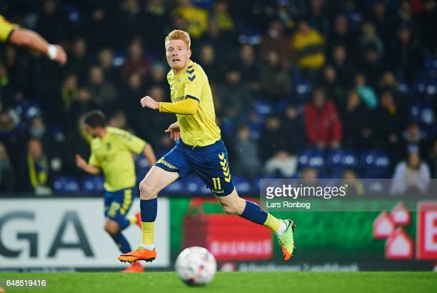 Zsolt Kalmar of Brondby IF in action during the Danish Alka Superliga match between Brondby IF and FC Nordsjalland at Brondby Stadion on March 5 2017...