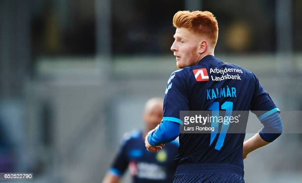 Zsolt Kalmar of Brondby IF looks on during the Danish Alka Superliga match between AC Horsens and Brondby IF at Casa Arena Horsens on March 12 2017...