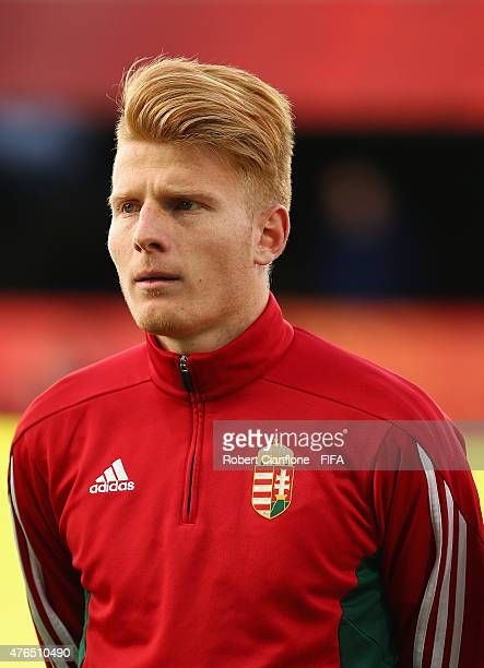 Zsolt Kalmar of Hungary is seen prior to the FIFA U20 World Cup New Zealand 2015 Round of 16 match between Serbia and Hungary at Otago Stadium on...