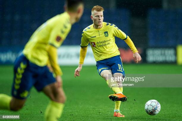 Zsolt Kalmár of Brondby IF in action during the Danish Cup DBU Pokalen match between BK Marienlyst and Brondby IF at Brondby Stadion on March 08 2017...