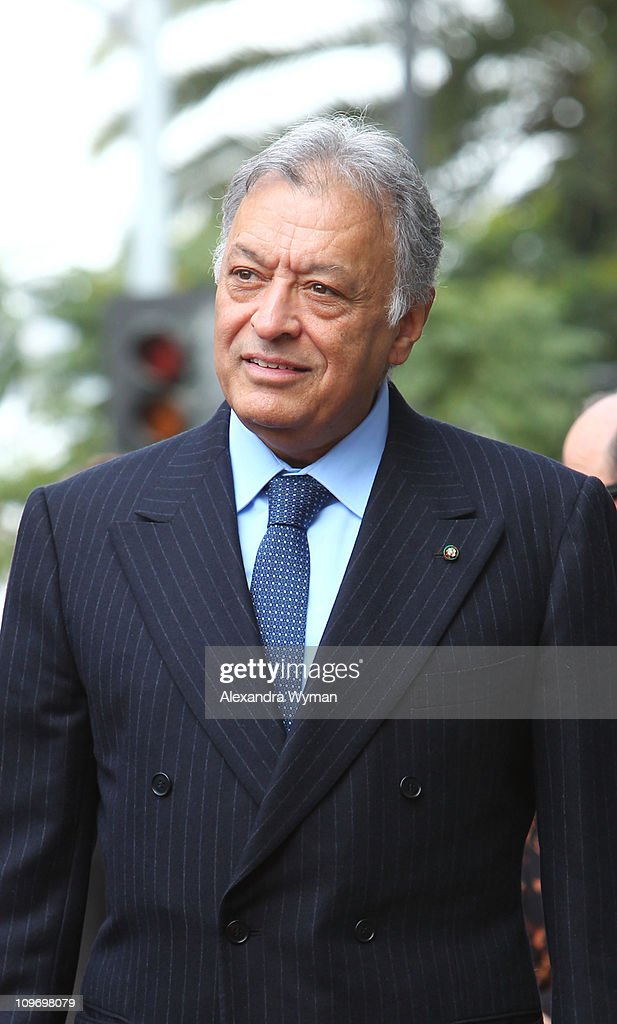 Zubin Mehta honored with a star on Hollywood Walk of Fame on March 1, 2011 in Hollywood, California.