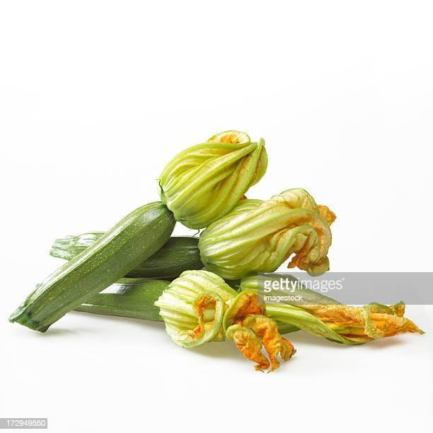 """Le Zucchini """"s avec fleur"""