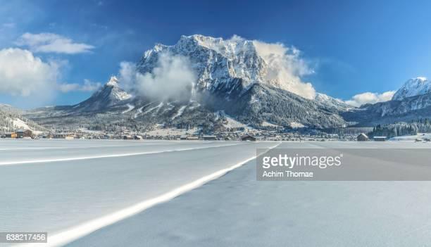 Zugspitze Mountain, Lermoos, Tyrol, Austria, Europe