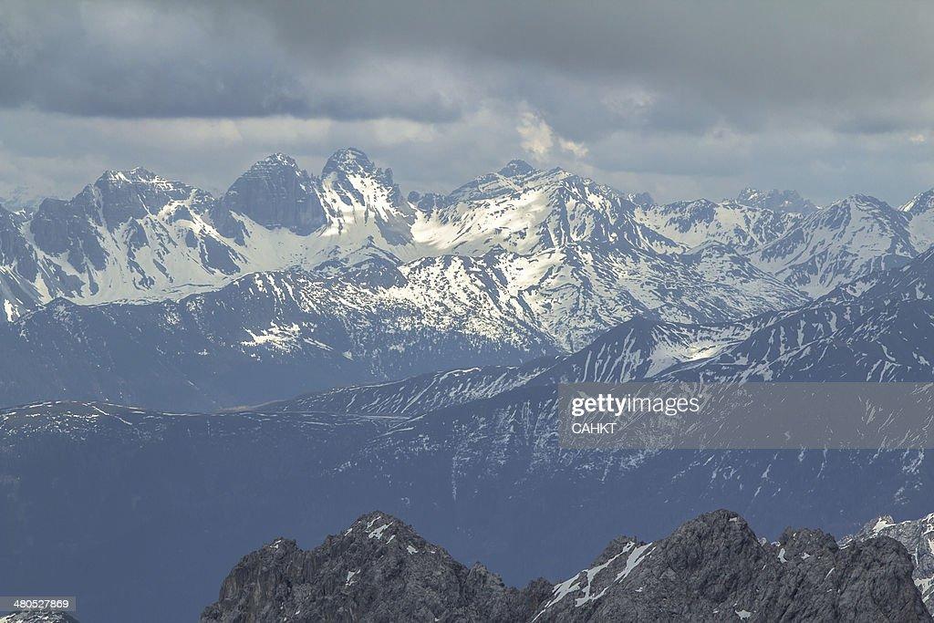Zugspitze : Bildbanksbilder