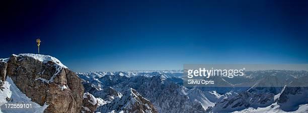 Zugspitze Panorama Zugspitze Stock-Fotos ...