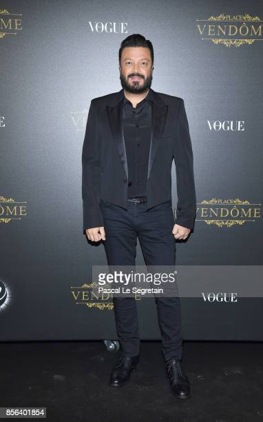 Zuhair Murad attends the Irving Penn Exhibition Private Viewing Hosted by Vogue as part of the Paris Fashion Week Womenswear Spring/Summer 2018 on...