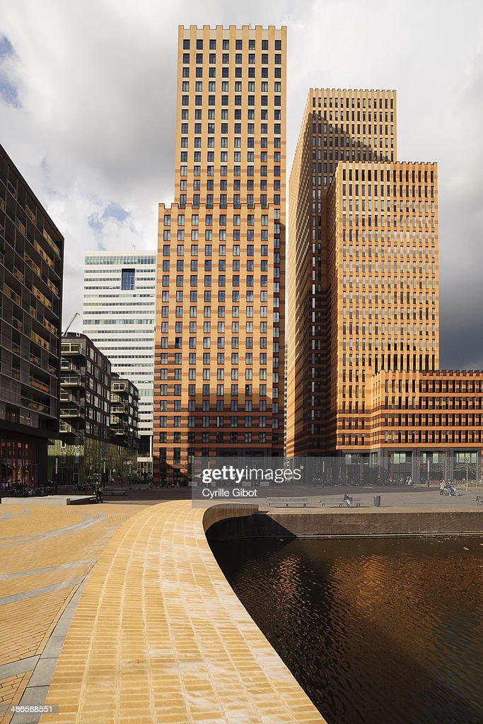 Zuidas business district, Amsterdam, Netherlands : Stock Photo