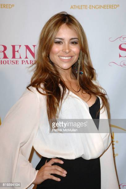 Zulay Henao attend Serena Williams Throws A PreESPY's Fete to Honor Athletes and Celebrities at a Private Residence on July 12th 2010 in Los Angeles...
