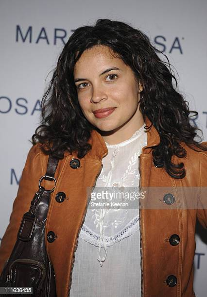 Zuleikha Robinson attends an InHouse Garden Screening of 'All About Eve' Presented by Martin Osa and hosted by Kate Beckinsale Len Wiseman in support...