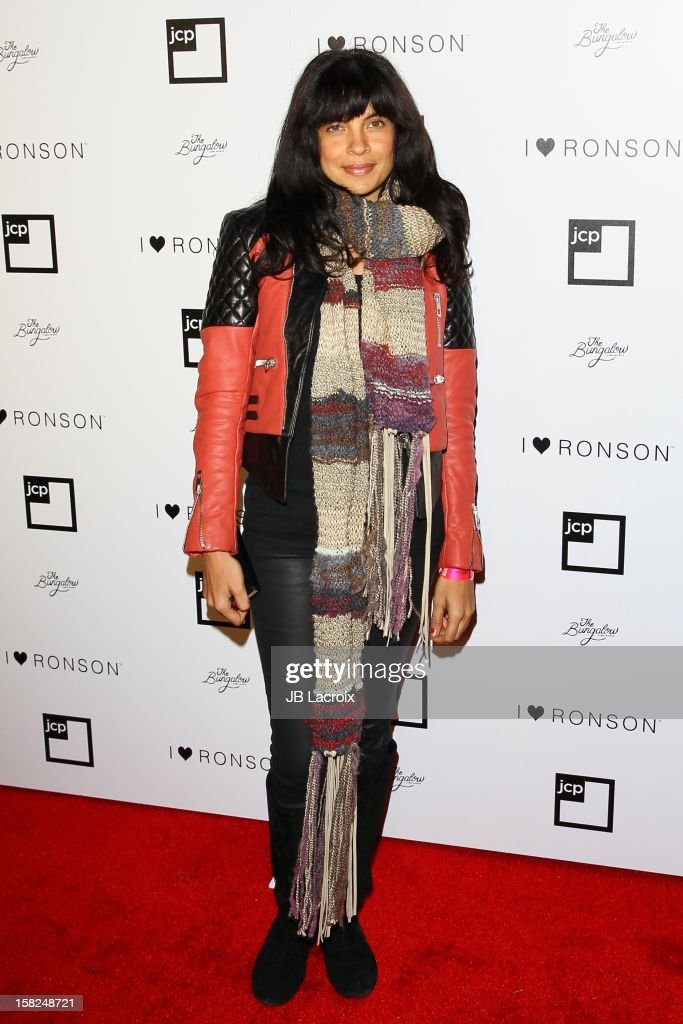 Zuleikha Robinson attends the Charlotte Ronson And Jcpenney I Heart Ronson Celebration With Music By Samantha Ronson at The Bungalow on December 11, 2012 in Santa Monica, California.
