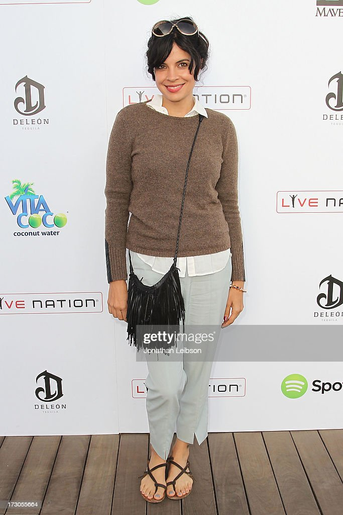<a gi-track='captionPersonalityLinkClicked' href=/galleries/search?phrase=Zuleikha+Robinson&family=editorial&specificpeople=215399 ng-click='$event.stopPropagation()'>Zuleikha Robinson</a> attends the Guy Oseary's July 4th event in Malibu presented by Spotify and Live Nation with DeLeon and VitaCoco at Nobu Malibu on July 4, 2013 in Malibu, California.