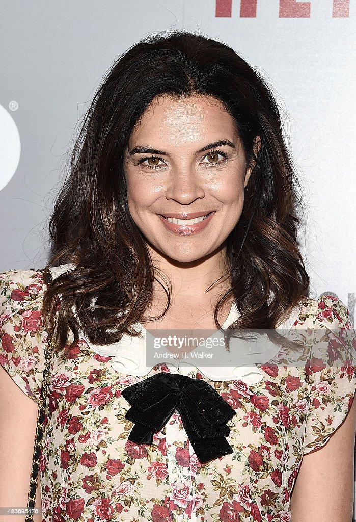 Zuleikha Robinson attends the 'Show Me A Hero' New York screening at The New York Times Center on August 11, 2015 in New York City.