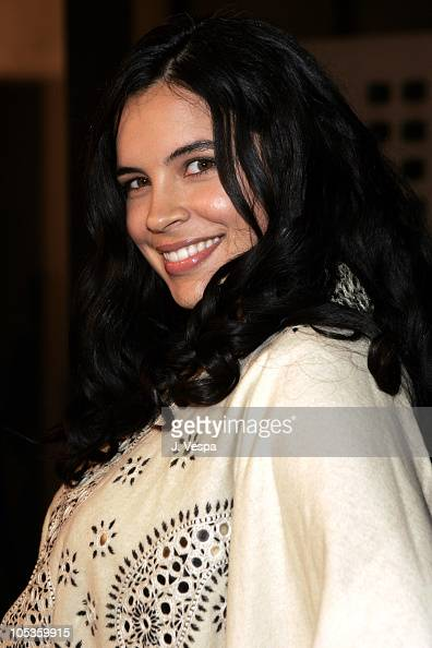 Zuleikha Robinson during 2004 AFI Film Festival 'The Merchant of Venice' Red Carpet at Cinerama Dome in Los Angeles California United States