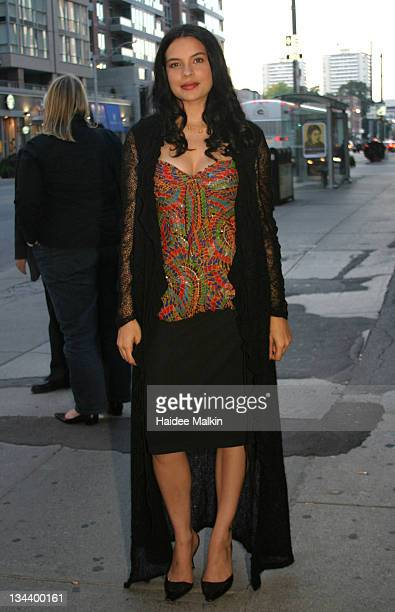 Zuleikha Robinson during 2004 Toronto International Film Festival 'Merchant of Venice' Premiere Afterparty at Pangea in Toronto Canada