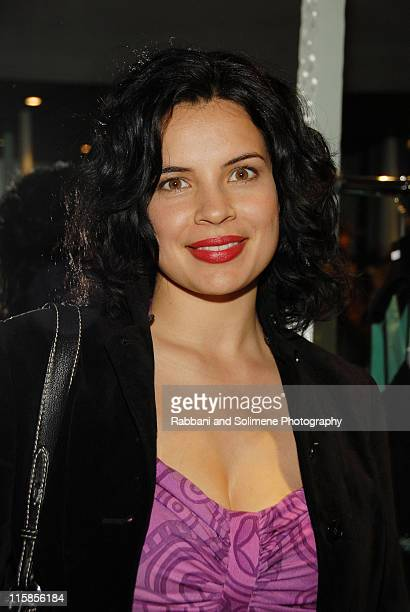 Zuleikha Robinson during Allegra Hicks Store Opening in New York New York United States