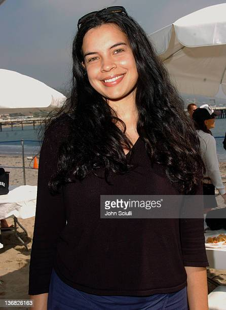 Zuleikha Robinson during Rip Curl Presents 'Sand Glam' Benefitting Heal the Bay Celebrity Surfing Competition at Malibu Surfrider Point in Malibu...