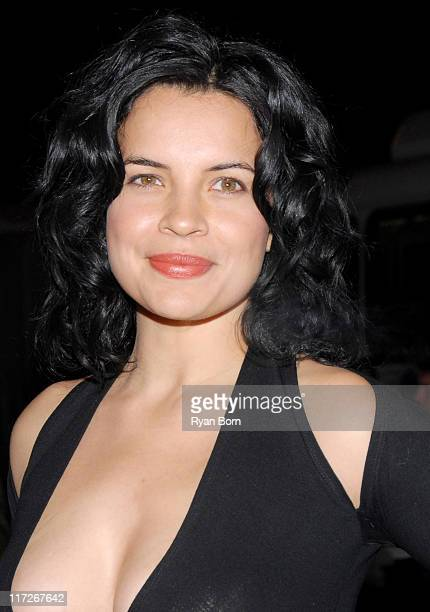 Zuleikha Robinson during The Namesake New York City Premiere Red Carpet at Chelsea West Cinemas in New York City New York United States
