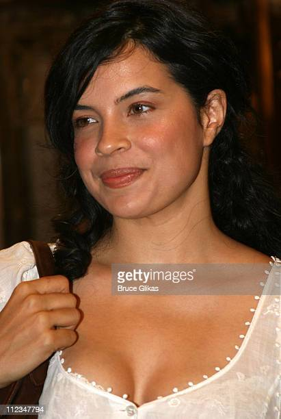 Zuleikha Robinson during 'The Vertical Hour' New York Premiere November 30 2006 at The Music Box Theatre in New York City New York United States