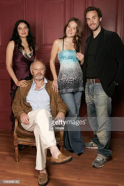 Zuleikha Robinson Michael Radford director Lynn Collins and Joseph Fiennes