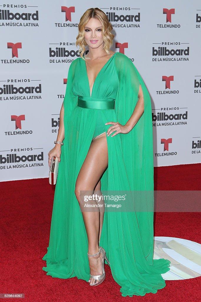 Zuleyka Rivera attends the Billboard Latin Music Awards at Bank United Center on April 28, 2016 in Miami, Florida.