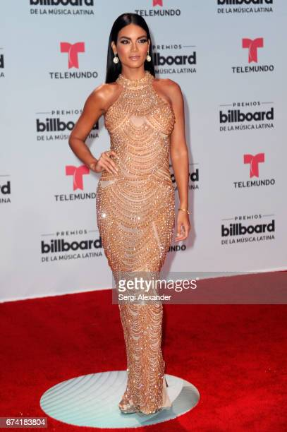 Zuleyka Rivera attends the Billboard Latin Music Awards at Watsco Center on April 27 2017 in Coral Gables Florida