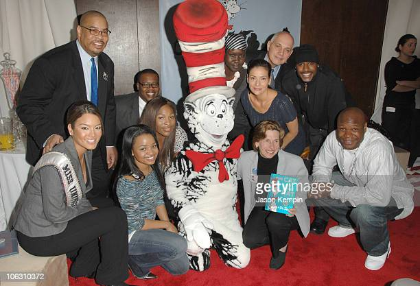 Zuleyka Rivera Kyla Pratt Serena Williams The Cat In The Hat Constance Marie and Randi Weingarten
