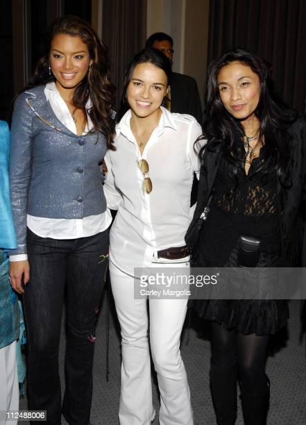Zuleyka Rivera Miss Universe 2006 Michelle Rodriguez and Sanjana Jon