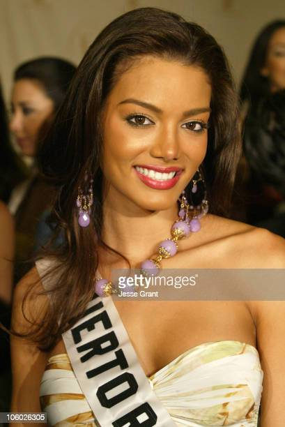Zuleyka Rivera of Puerto Rico during Miss Universe 2006 Breakfast with the 18 Hispanic Candidates at Wilshire Grand Hotel in Los Angeles California...
