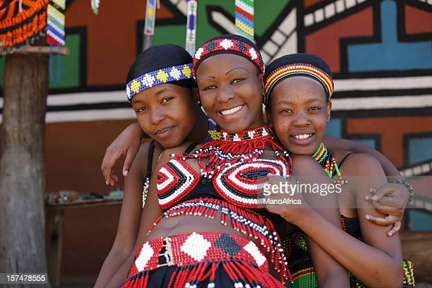 Zulu girls from South Africa