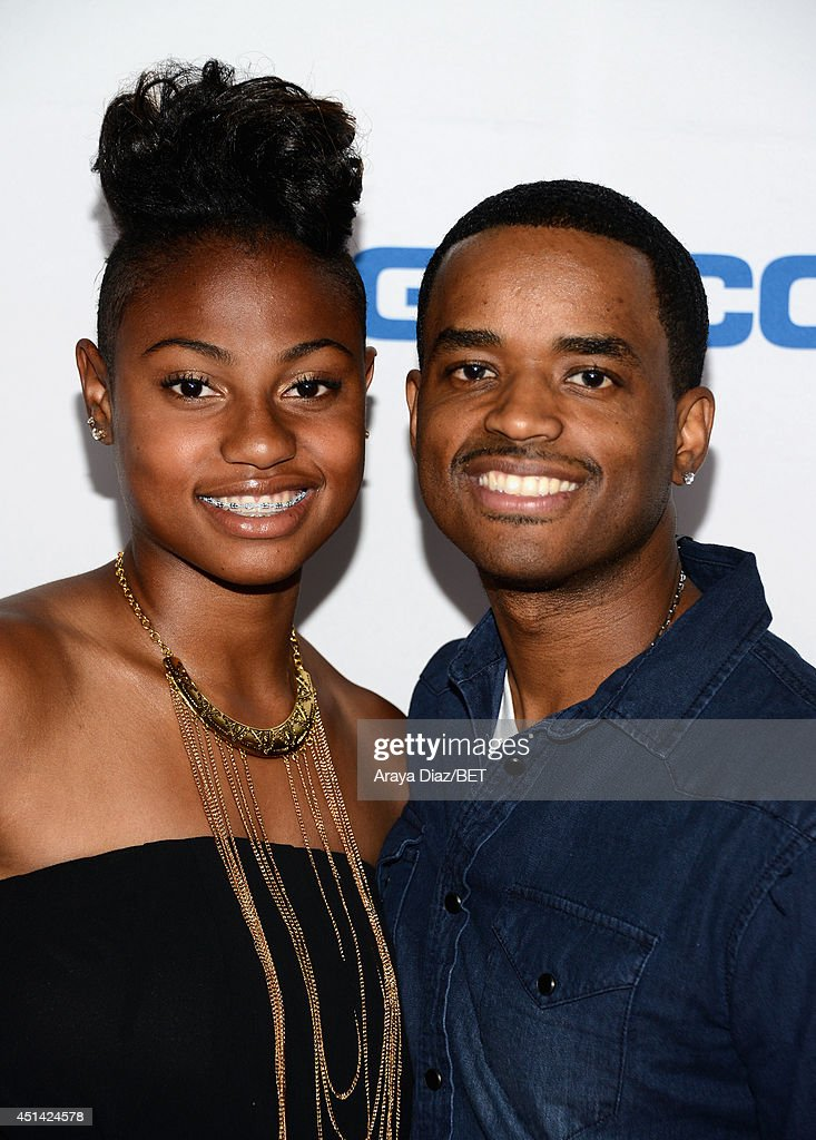 Zuri Ali (L) and actor <a gi-track='captionPersonalityLinkClicked' href=/galleries/search?phrase=Larenz+Tate&family=editorial&specificpeople=240287 ng-click='$event.stopPropagation()'>Larenz Tate</a> attend the BETX Film Festival presented by Geico during the 2014 BET Experience At L.A. LIVE on June 28, 2014 in Los Angeles, California.