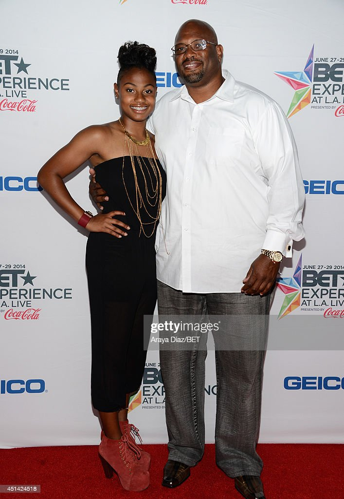 Zuri Ali (L) and music supervisor Jabari Ali attend the BETX Film Festival presented by Geico during the 2014 BET Experience At L.A. LIVE on June 28, 2014 in Los Angeles, California.