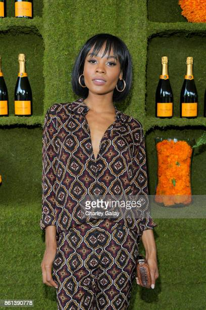 Zuri Hall at the Eighth Annual Veuve Clicquot Polo Classic on October 14 2017 in Los Angeles California