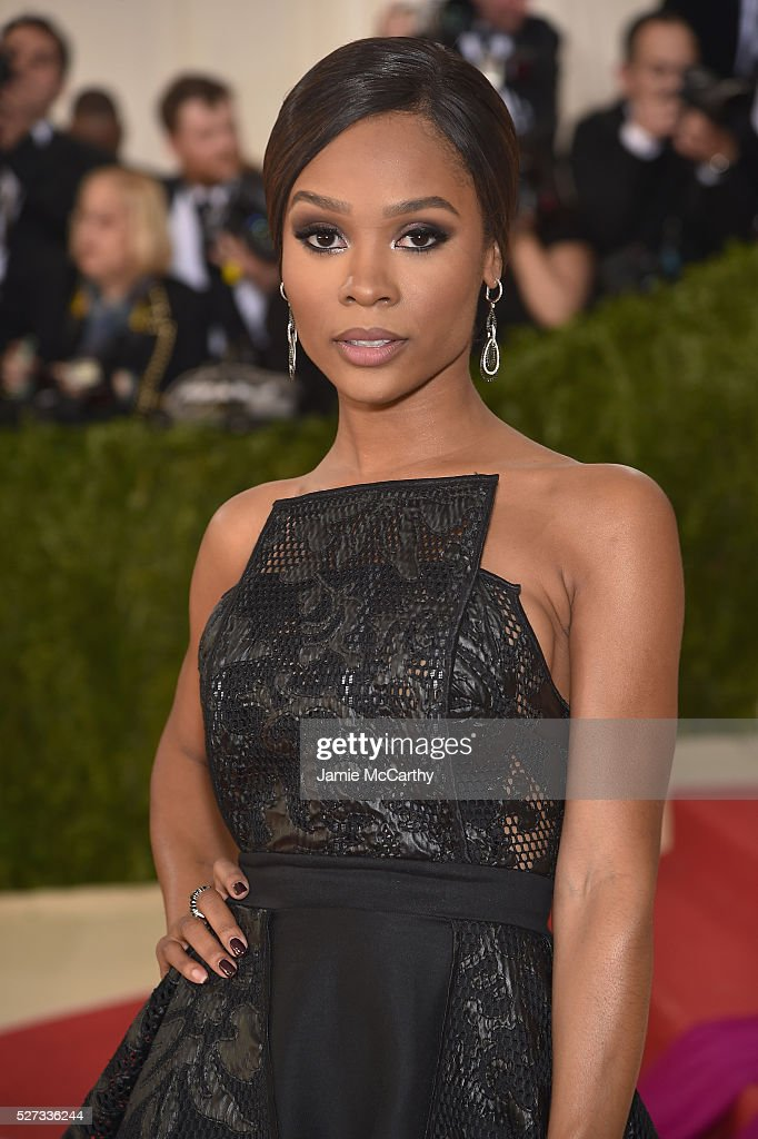 Zuri Hall attends the 'Manus x Machina: Fashion In An Age Of Technology' Costume Institute Gala at Metropolitan Museum of Art on May 2, 2016 in New York City.