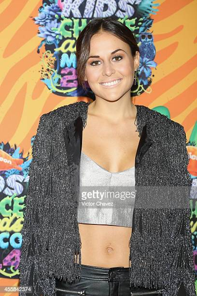 Zuria Vega attends the Nickelodeon Kids' Choice Awards Mexico 2014 at Pepsi Center WTC on September 20 2014 in Mexico City Mexico