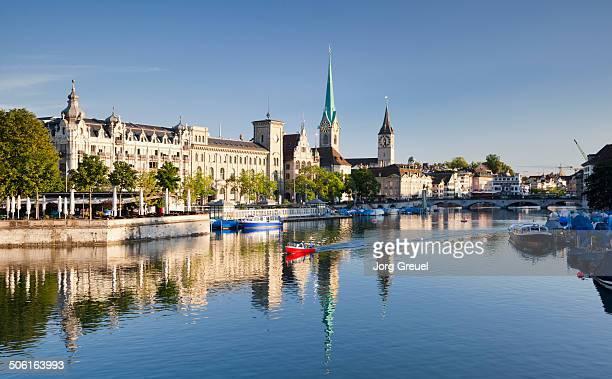 Zurich and River Limmat