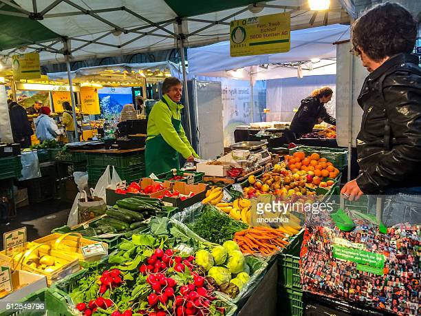 Zürich Farmer's Market, Schweiz