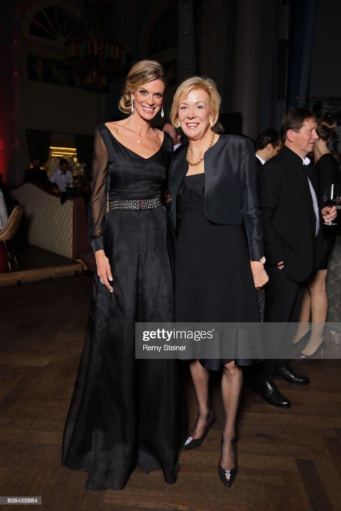 Zurich Film Festival director Nadja Schildknecht and Monika Ribar attend the Tommy Hilfiger VIP Dinner in celebration of the 13th Zurich Film Festival on October 6, 2017 in Zurich, Switzerland.