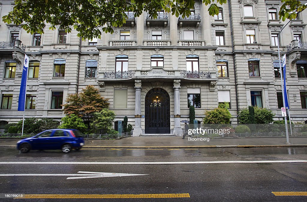 Zurich Insurance Group AG's headquarters stands in Zurich, Switzerland, on Monday, Sept. 16, 2013. Zurich Insurance named Tom de Swaan chairman, replacing Josef Ackermann, who stepped down after the suicide of Chief Financial Officer Pierre Wauthier. Photographer: Gianluca Colla/Bloomberg via Getty Images
