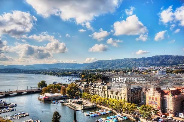 Zurich on a bright day